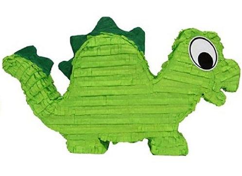 Dinosaur Green Birthday Party Pull Strings Pinata -40cm