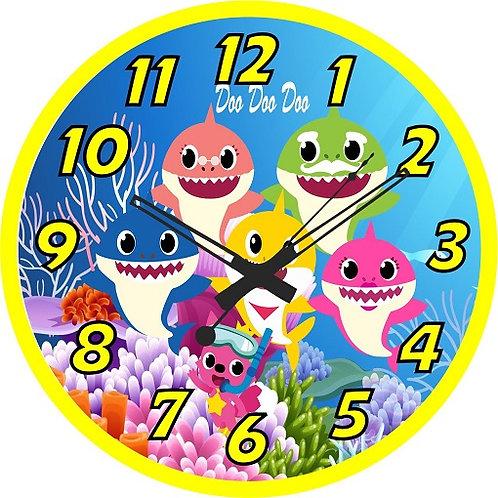 Baby Shark  Clock