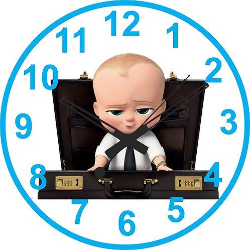 Boss Baby  Clock