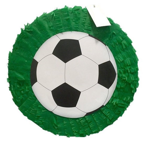 ANY COLOR Sports Football Soccer Birthday Party Pull Strings Pinata -35 c