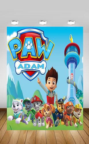 Paw Patrol Backdrop
