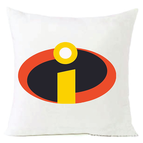 Incredibles Logo Cushion Decorative Pillow - 40cm