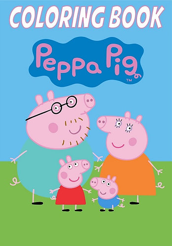Peppa Pig Small Coloring Book