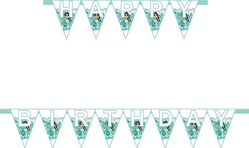 Jasmine Aladdin HAPPY BIRTHDAY Banner
