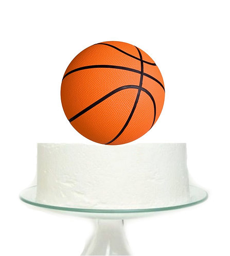 Basketball Sports Big Topper for Cake - 1 pcs set