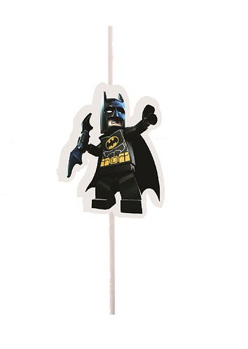Batman Lego Cakepops Toppers - 12 pcs set