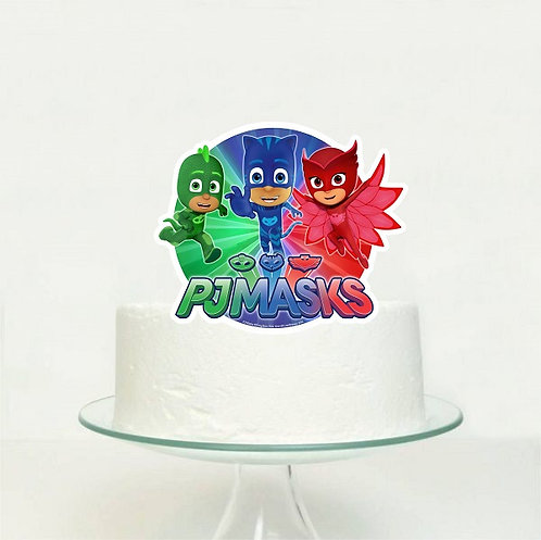 PJ Masks Big Topper for Cake - 1 pcs set