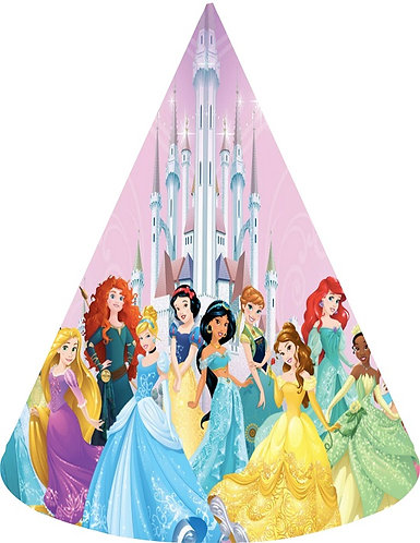 Princess Party Hats - 6pcs