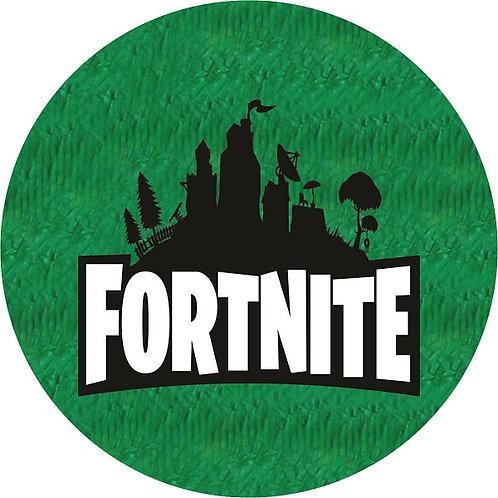 Fortnite Game Logo Birthday Party Pull Strings Pinata - 35 cm
