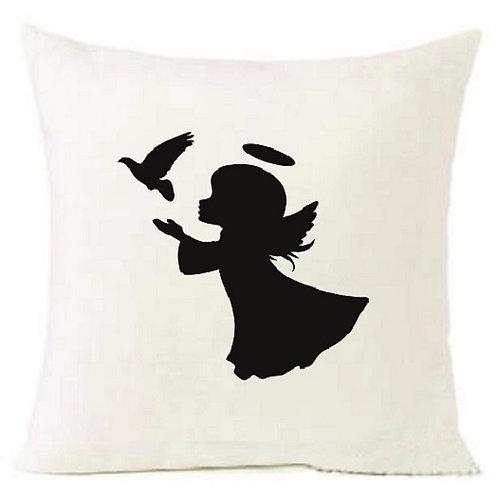 Christmas Angel Dove Cushion Decorative Pillow COTTON OR LINEN -40cm