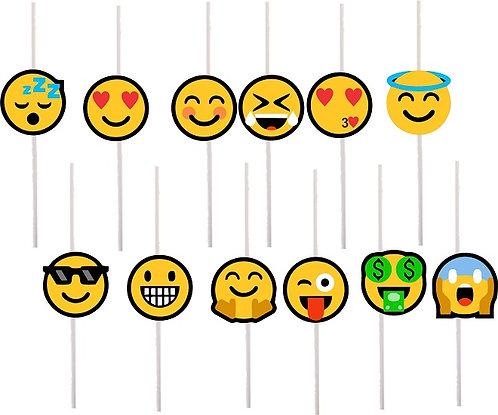 Emoji Cakepops Toppers - 12 pcs set