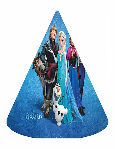 Frozen Party Hats - 6pcs