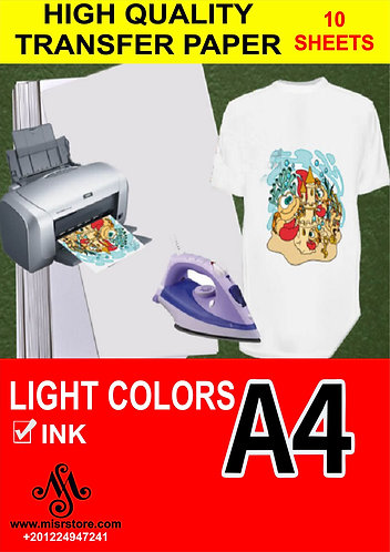 Transfer Paper for Light Colors