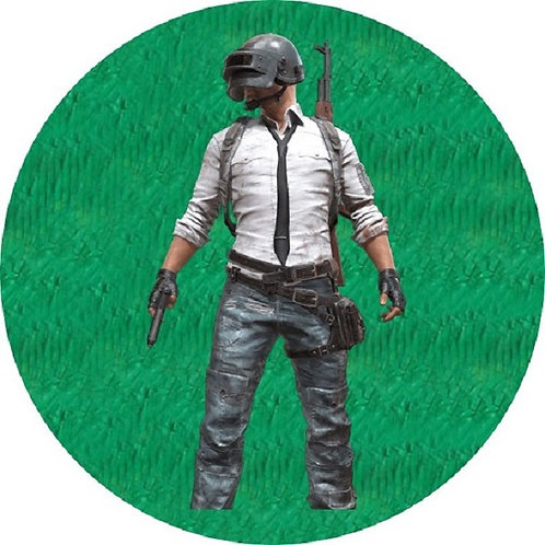 PUBG Game Birthday Party Pull Strings Pinata - 35cm