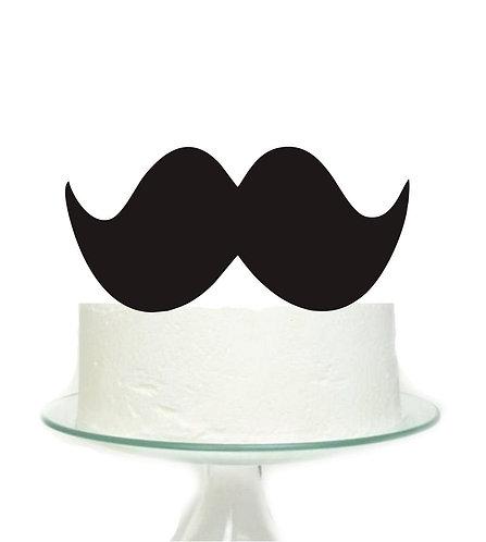 Mustache Big Topper for Cake - 1 pcs set