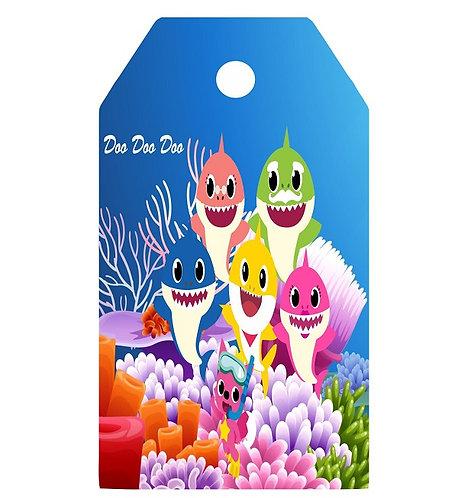 Baby Shark Gifts Tags - 12 pcs set