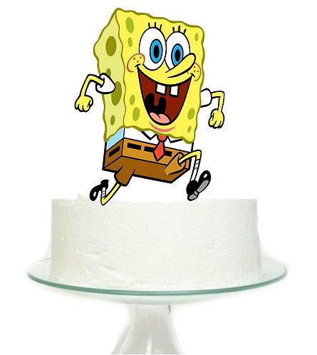 Spongebob Big Topper for Cake - 1 pcs set