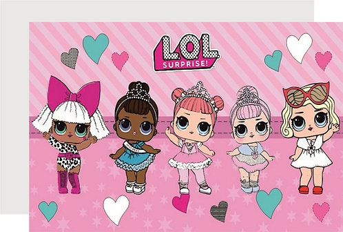 LOL Surprise Dolls Invitations - 6pcs party invites