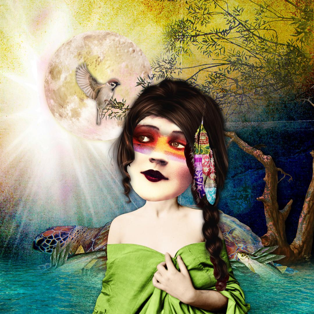 Ataensia-Skywoman (Native American goddess)