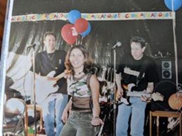 John, Melissa and Jim at Melissa's Grad