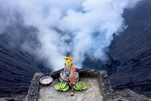 The Altar of the Mountain Gods, Indonesia