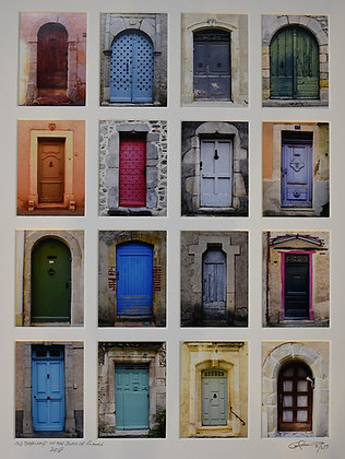Old Doorways in Southern France