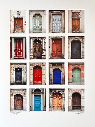Doors of Gdansk, Poland