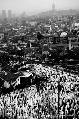 Hallowed Hillside, Sarajevo, Bosnia-Herzegovina