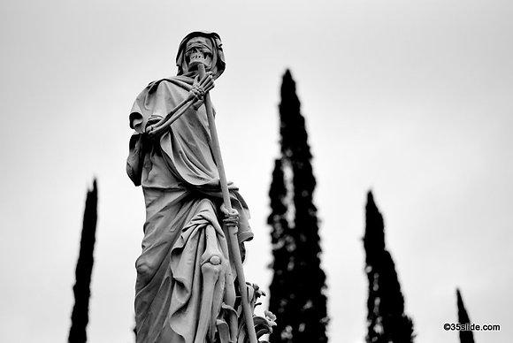Grim Reaper Grave, Italy