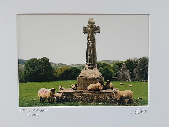 High Cross Hangout, Ireland 8x10 matted size