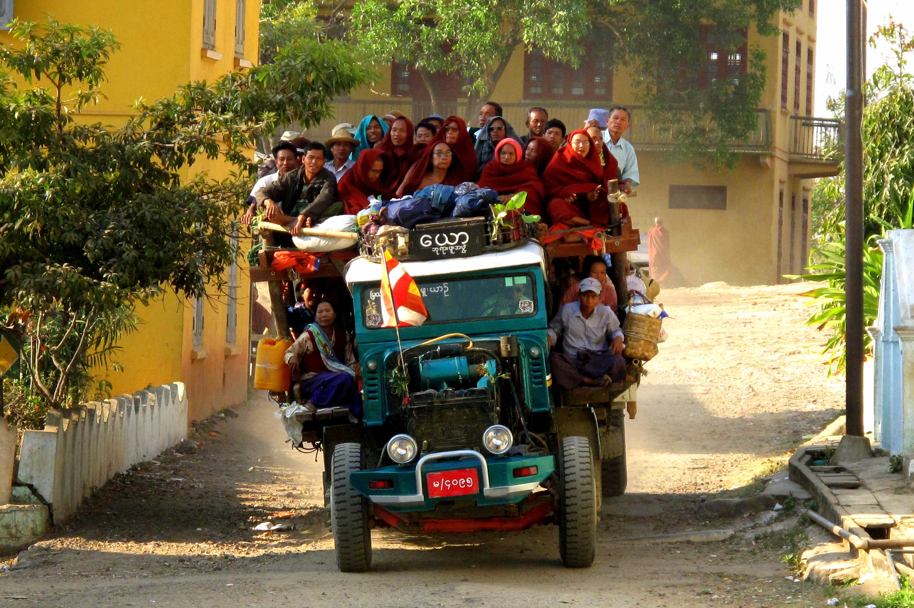 Mass Transit, Burma