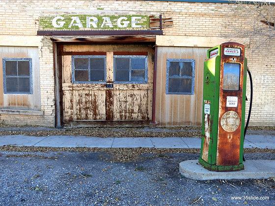 Old Service Station, NV USA
