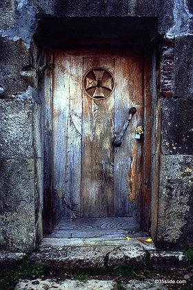 Old Church Door, Republic of Georgia