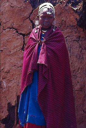 Maasai Girl, Tanzania