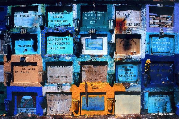 Technicolor Tombs, Guatemala