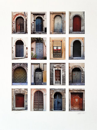 Doors of Bergamo