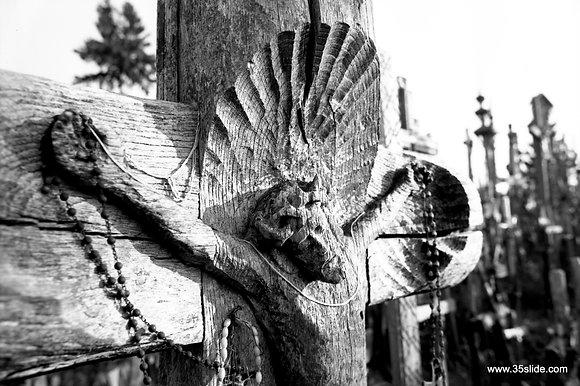 Crucifix 1, Hill of Crosses, Lithuania