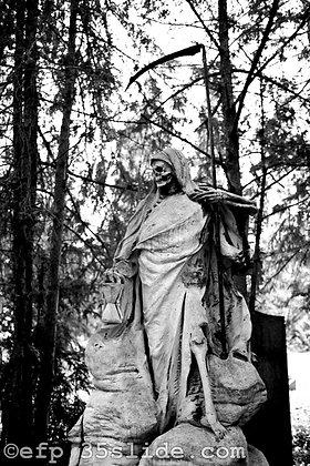 Grim Reaper Gravestone, Germany