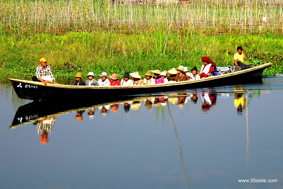 Water Taxi, Burma