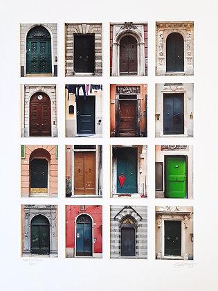 Doors of Genoa