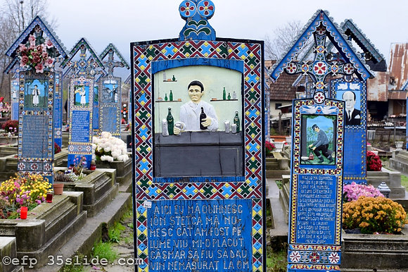 Last Call (A Barman's Grave), Romania