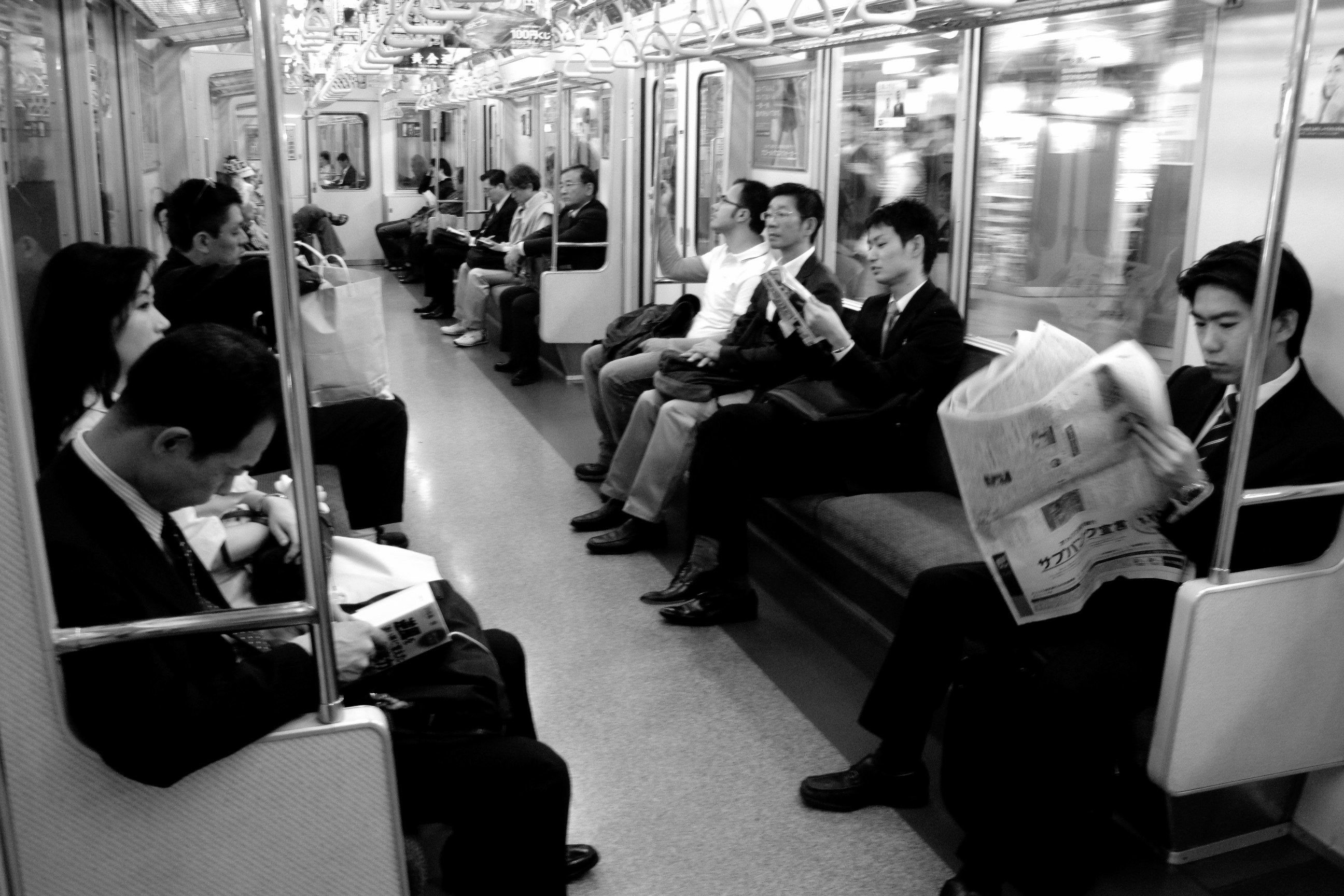 Tokyo Subway, Japan