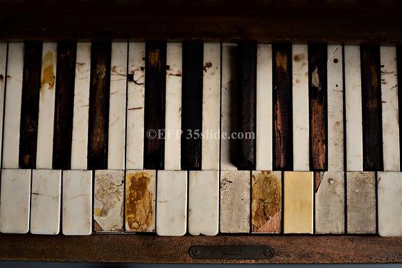 Old Church Piano, MS, USA