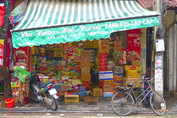 Well-Stocked Shop, Vietnam