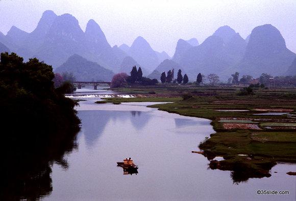 Raft on the Jade Dragon River, China