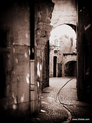 Old Street in St. Remy, France