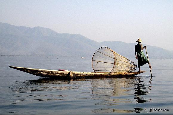 Inle Lake Fisherman, Burma