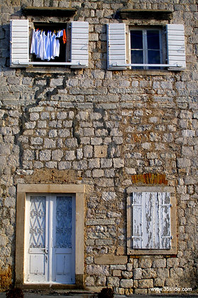 Old House in Perast, Montenegro