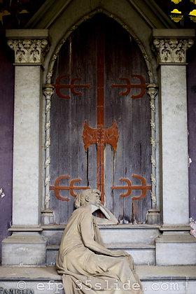 Doorway Mourner , Italy