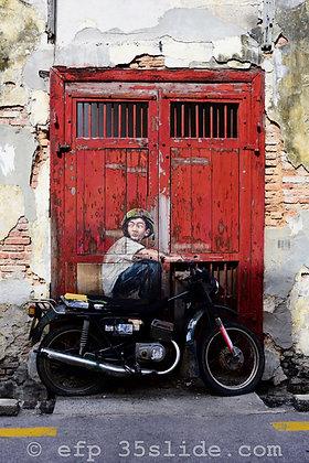 Street Art Doorway, Malaysia